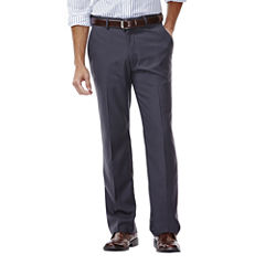 Haggar® Straight-Fit Flat-Front Gabardine Dress Pants