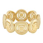 Liz Claiborne® Gold-Tone Stretch Bracelet