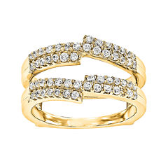 5/8 CT. T.W. Diamond 14K Yellow Gold Ring Guard