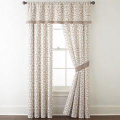 JCPenney Home™ Stonebridge 2-Pack Rod-Pocket Curtain Panels