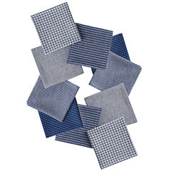 Design Imports Capri Set of 10 Assorted Dishcloths