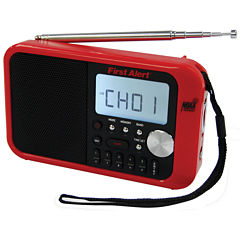 First Alert SFA1100 AM/FM Weather Band Clock Radio