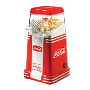 Nostalgia RHP310COKE Coca-Cola 8-Cup Hot Air Popcorn Maker