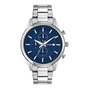 Citizen® Exclusive Mens Silver-Tone Chronograph Watch