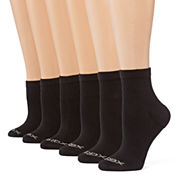 Xersion™ 6-pack Zone Cushioned Quarter Socks