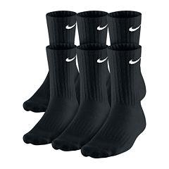 Nike® 6-pk. Performance Cotton Crew Socks