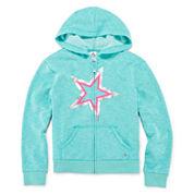 Xersion™ Long-Sleeve Zip Hoodie - Girls 7-20 and Plus