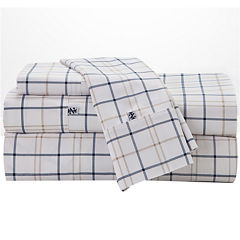 IZOD® 200tc Windowpane Plaid Sheet Set