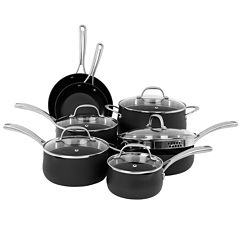 Oneida® 12-pc. Hard-Anodized Cookware Set