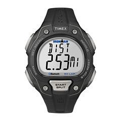 Timex Mens Black Strap Watch-Tw5k86500f5
