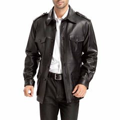Momo Baby Charles Leather Trench Coat