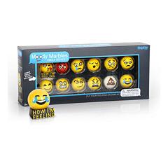MegaFun USA Moody Marbles Emoji Set - Series 2