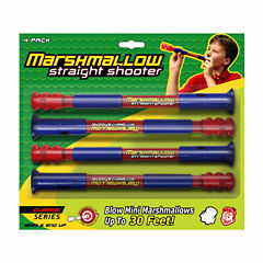 Marshmallow Fun Company Marshmallow Classic Straight Shooter 4-pack