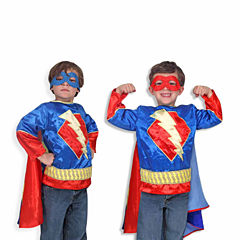 Melissa and Doug Super Hero Deluxe Role Play Costume Set