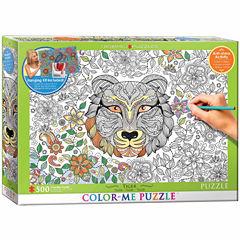 Eurographics Inc Color-Me Puzzle - Tiger: 500 Pcs