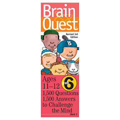 Workman Publishing Brain Quest - 6th Grade