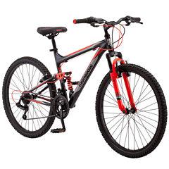 Mongoose Mens Full Suspension Mountain Bike