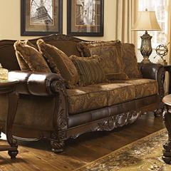 Signature Design By Ashley® Fresco Fabric Sofa