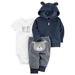 Carter's 3-pc. Layette Set-Baby Boys