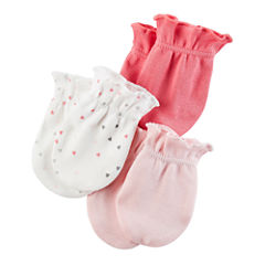 Carter's Girls Baby Mittens