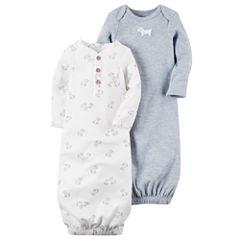 Carter's Boys Long Sleeve 2-pk. Gown - Baby