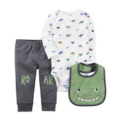 Carter's Little Baby Basics Boy Knee Art Set