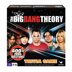 Cardinal The Big Bang Theory Trivia Game