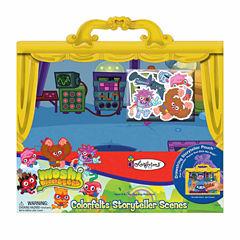 Colorforms Moshi Monsters Colorfelts Storyteller Scenes