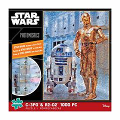 Buffalo Games Star Wars Photomosaics - C-3PO & R2-D2: 1000 Pcs