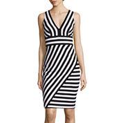 Bisou Bisou® Sleeveless Stripe Dress