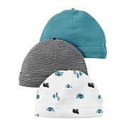 Carter's® 3-pk. Bear Hats - Baby Boys 0-3 months