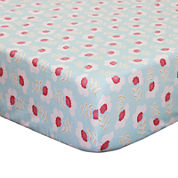The Peanut Shell® Mila Crib Fitted Sheet