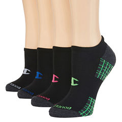 Champion® Double Dry 4-Pack No-Show Socks