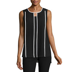 Worthington Sleeveless Blouse