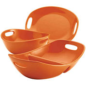 Rachael Ray® 3-pc. Serving Bowls and Platter Stoneware Serving Set