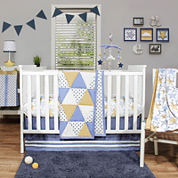 The Peanut Shell® 4-pc. Stargazer Crib Bedding Set