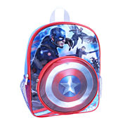 Marvel® Captain America Backpack with Shield Pocket - Boys