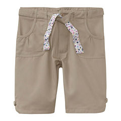 U.S. Polo Assn.® Belted Bermuda Shorts - Preschool Girls 4-6x