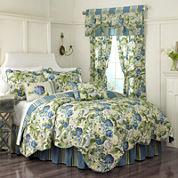 Waverly® Floral Flourish Reversible Qulit Set & Accessories