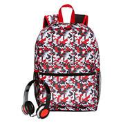 Digi Camo Backpack with Headphones
