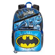 DC Comics Batman Backpack with Lunchkit - Boys