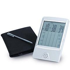 Natico Touchscreen Clock & Calculator