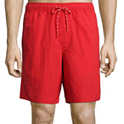 St. John's Bay® Solid Volley Swim Trunks