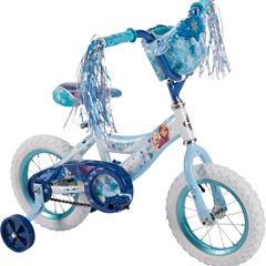 Huffy Disney Frozen 12In Bike with Handlebar Bag