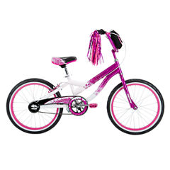Huffy Jazzmin 20In Bike with Fashion Bag