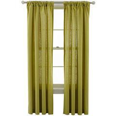 MarthaWindow™ Caldwell Rod-Pocket/Back-Tab Curtain Panel