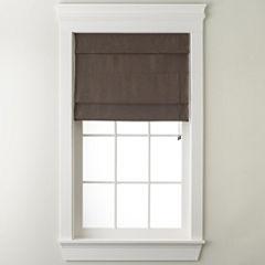 JCPenney Home™ Custom Textured Roman Shade