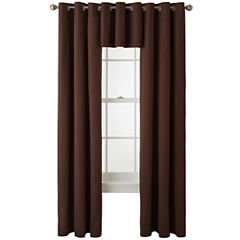 JCPenney Home™ Jenner Cotton Grommet-Top Window Treatments