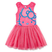 Hello Kitty® Glitter Tutu Dress - Preschool Girls 4-6x