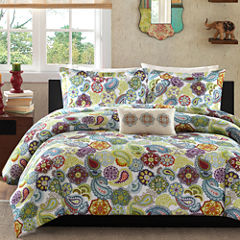 Mi Zone Asha Paisley Duvet Cover Set & Accessories